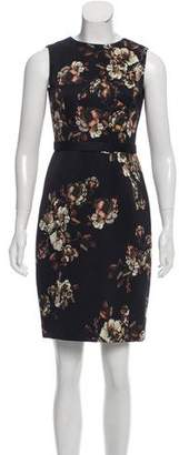Jason Wu Floral Print Sheath Dress