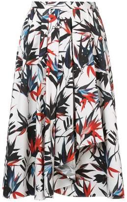 Jason Wu Collection foliage print A-line skirt