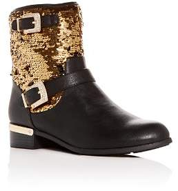 Vince Camuto Girls' Winika Sequin Low-Heel Boots - Toddler, Little Kid, Big Kid