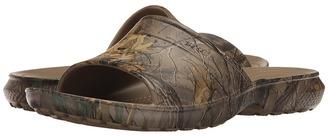Crocs - Classic Realtree Xtra Slide Slide Shoes $30 thestylecure.com