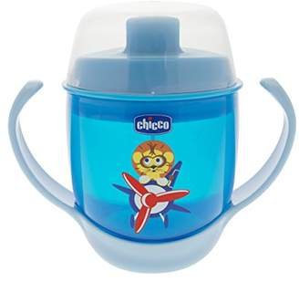 Chicco 00006824120000 Sippy Cup with Spout, 12 Months and Over, 180 ml, Assorted - Pink and Blue