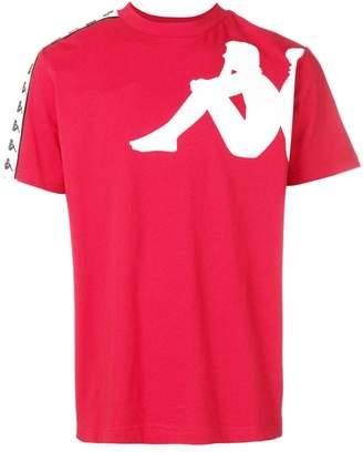 Kappa logo trimmed T-shirt