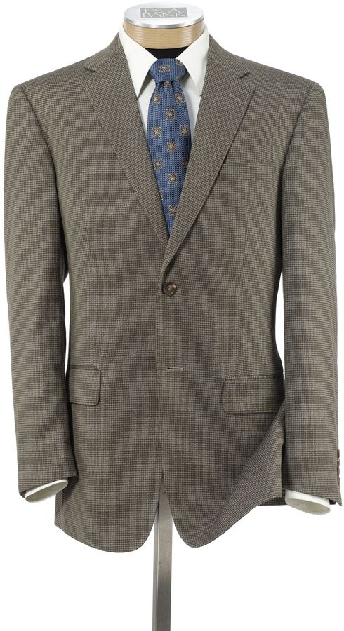 Jos. A. Bank Traveler Wool Tailored Fit 2-Button Sportcoat