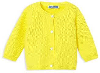 Jacadi Girls' Waffle-Knit Cardigan - Baby