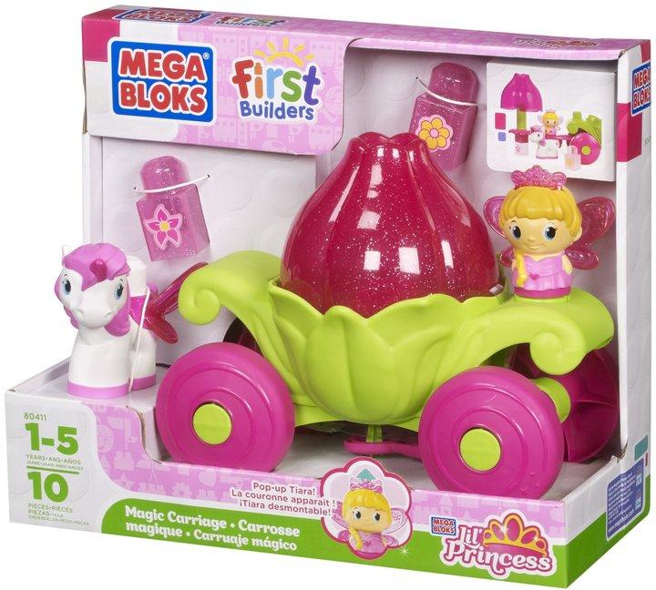 Mega Bloks First Builders Sparkling Princess Magic Carriage