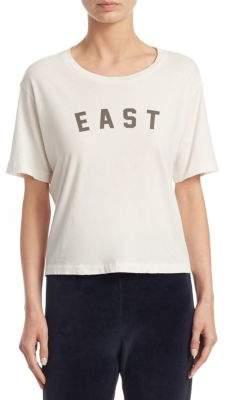 Amo Short-Sleeve East Cotton Tee