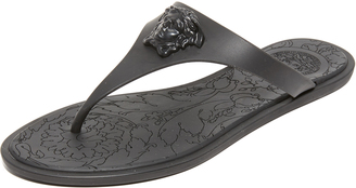 Versace Thong Sandals $350 thestylecure.com