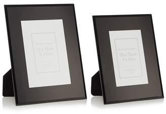 Debenhams Home Collection - Set Of Two 'Olivia' Glass Photo Frames