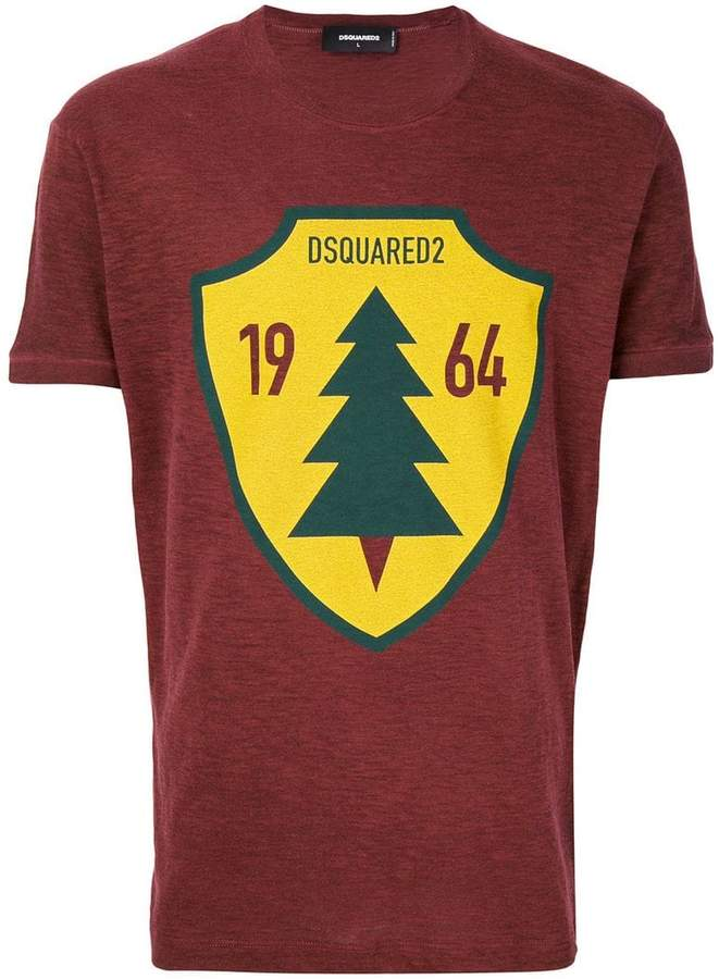 DSQUARED2 sign print T-shirt