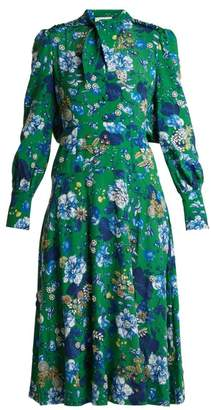 Erdem Ellera Elizabeth Garden-print dress