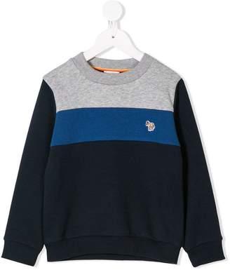 Paul Smith colour-block sweatshirt
