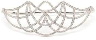 Gaydamak White Gold and Diamond Ardeko Hand Bracelet