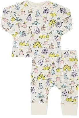 Stella McCartney Infants' Sand-Castle-Print Cotton T-Shirt & Leggings