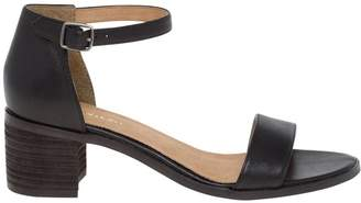 Le Château Women's Chic Leather Ankle Strap al