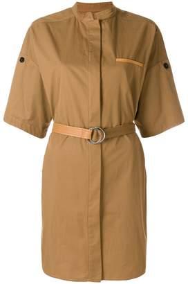 Yves Salomon belted utility-style dress