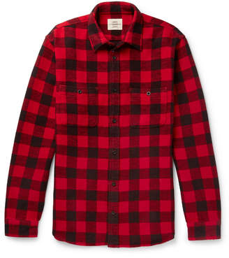 Kent & Curwen Checked Cotton-Flannel Shirt