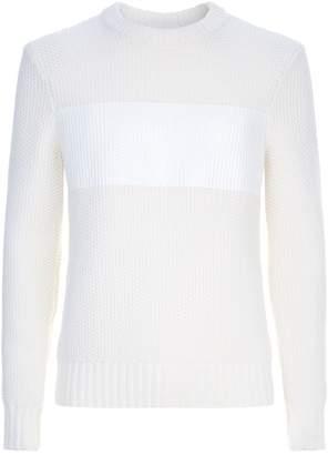 Helmut Lang Chunky Stripe Print Sweater