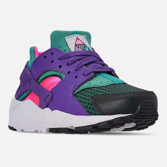 Nike Girls' Big Kids' Huarache Run Now Casual Shoes