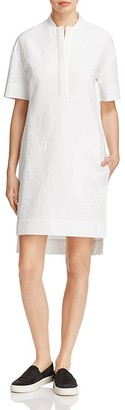 DKNY Pure Textured Shirt Dress $298 thestylecure.com
