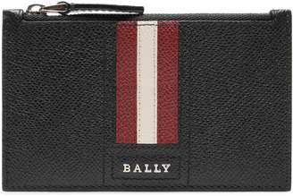 Bally Tenley Leather Zip Wallet