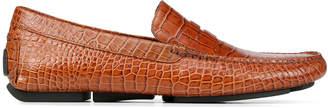 Donald J Pliner VINCO5, Croco Print Driving Loafer