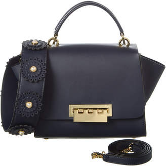 Zac Posen Eartha Top Handle Leather Crossbody