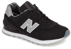 Women's New Balance 574 Luxe Rep Sneaker $79.95 thestylecure.com