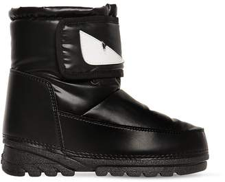Fendi Nylon Snow Boots