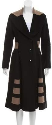 Temperley London Long Wool Coat