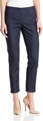 NYDJ Women's Alina Pull On Ankle Jeans, Dark Enzyme