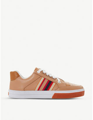 Bertie Ennfield leather trainers