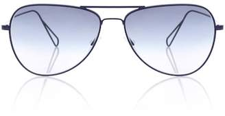 Isabel Marant Matt aviator sunglasses for Oliver Peoples
