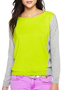 JCPenney jcpTM Pullover Sweater- Petites