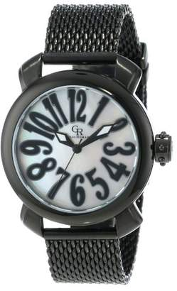 Mother of Pearl Giulio Romano Women's GR-7000-13-001 Rimini Mother-Of-Pearl Dial Black Ion-Plated Watch