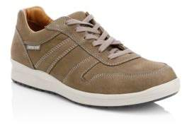 Mephisto Suede Lace-Up Sneakers