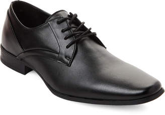 Calvin Klein Black Benton Leather Oxfords