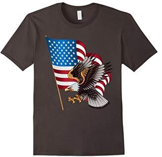 USA Flag Bald Eagle T-shirt American Flag 4th Of July shirt