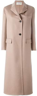Valentino single breasted long coat