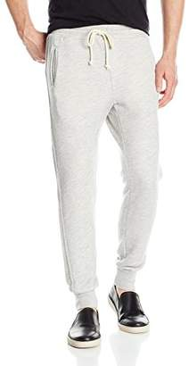 Velvet by Graham & Spencer Men's Elliott Drawstring Dropcrotch Sweatpants in Soft French Terry