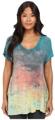 Hard Tail - Open Back Tee Women's T Shirt $100 thestylecure.com