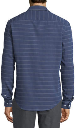 Original Penguin Men's Horizontal Stripe Button-Down Shirt