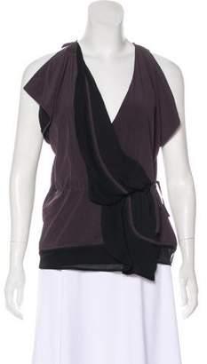 Fendi Silk Sleeveless Top