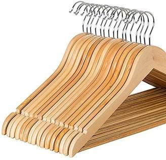Laundry by Shelli Segal Rebrilliant Blane Solid Wood Non-Slip Hanger