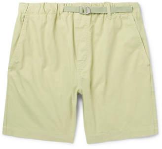 Albam Mountain Cotton-Twill Shorts