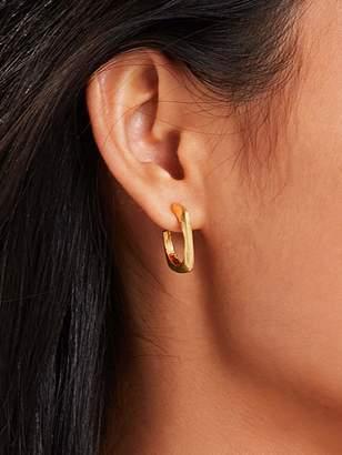 Shein Open Square Hoop Earrings 1pair