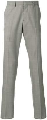 Calvin Klein Glen check trousers