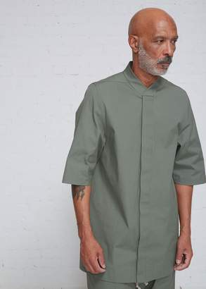 Rick Owens Short Sleeve Faun Shirt