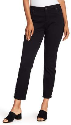 KUT from the Kloth Connie Ankle Snap Jeans