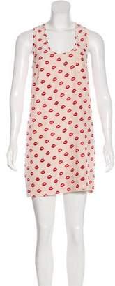 Joie Silk Printed Mini Dress