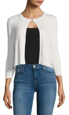 Calvin Klein Three-Quarter Sleeve Cardigan